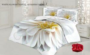 روتختی سه بعدی white flower