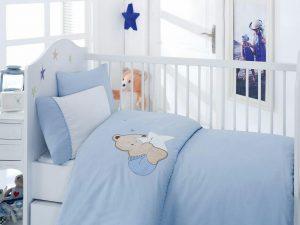 ست لحاف نوزادی blue dreamy