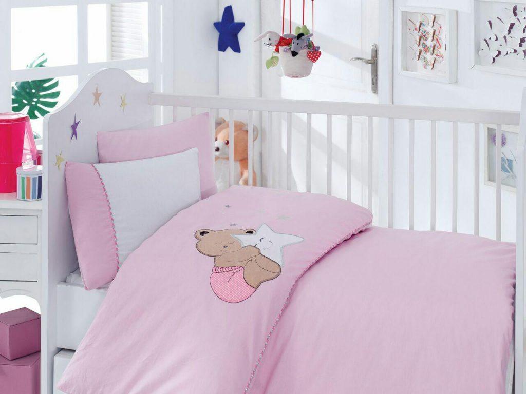 ست لحاف نوزادی pink dreamy