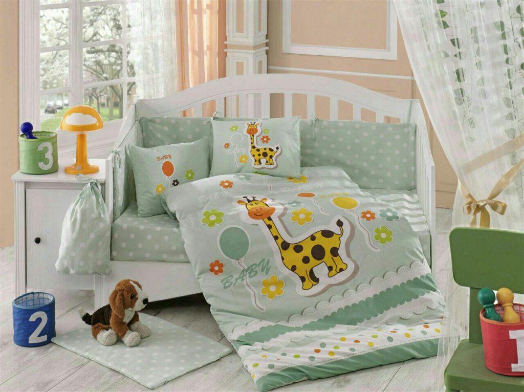ست لحاف نوزادی puffygreen