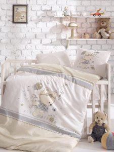 ست لحاف نوزاد teddy