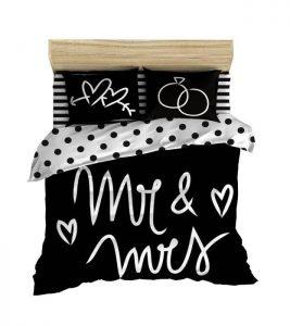 روتختی سیاه سفید Mr & Mrs
