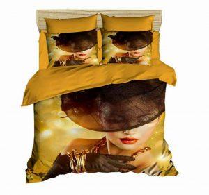 روتختی سه بعدی gold lady