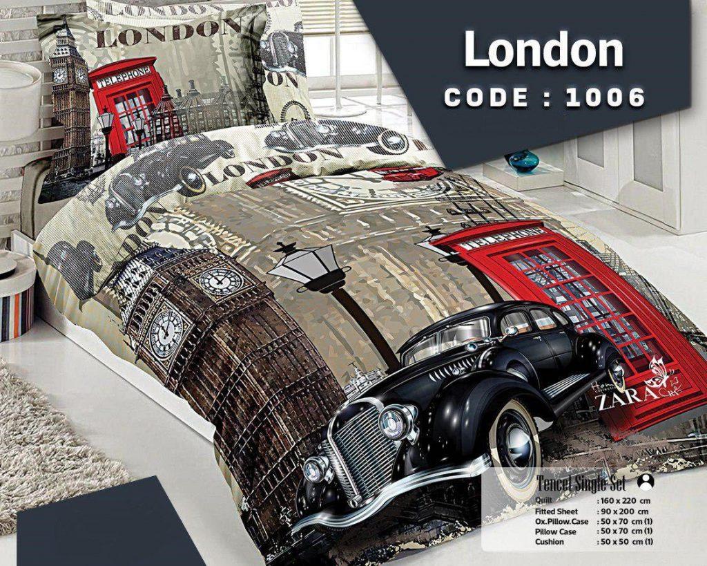 روتختی یکنفره سه بعدی london