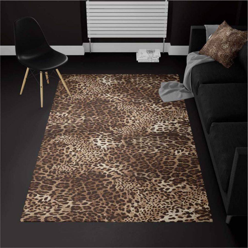 قالیچه ترک پلنگی