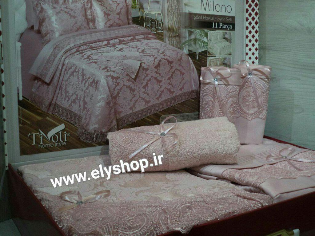 خرید روتختی عروس milano