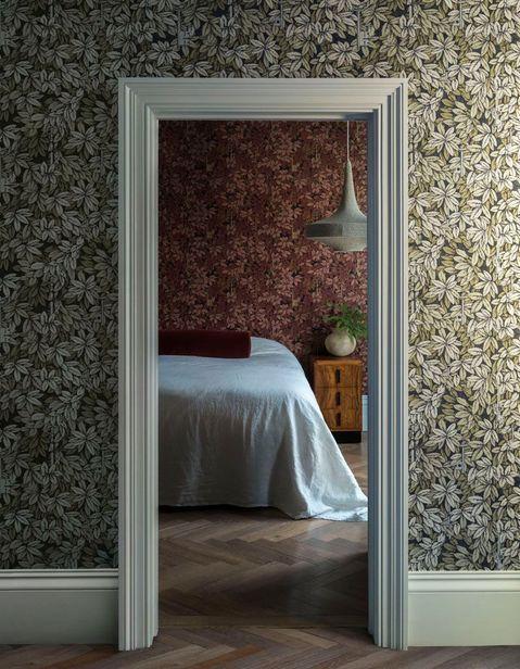 تنوع رنگ کاغذ دیواری اتاق خواب و هال