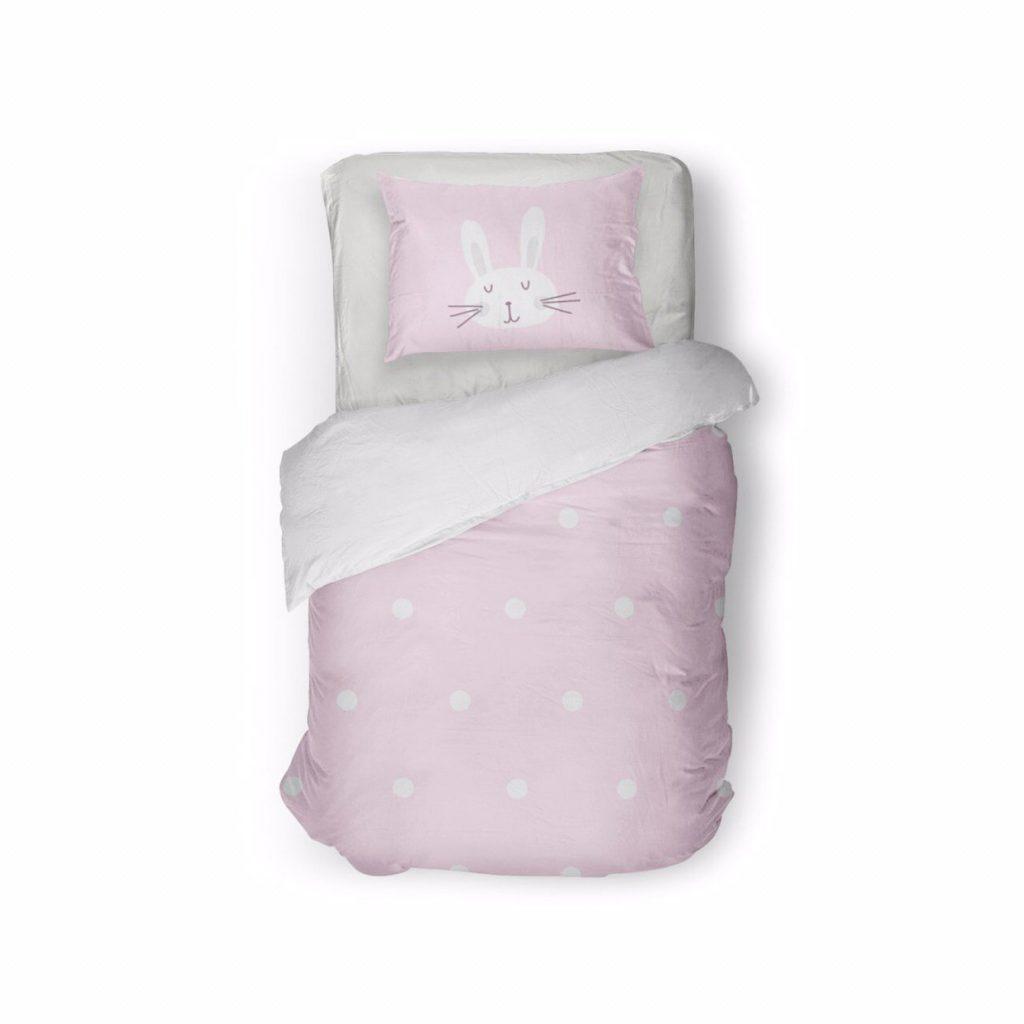 روتختی نوزادی rabbit/pink