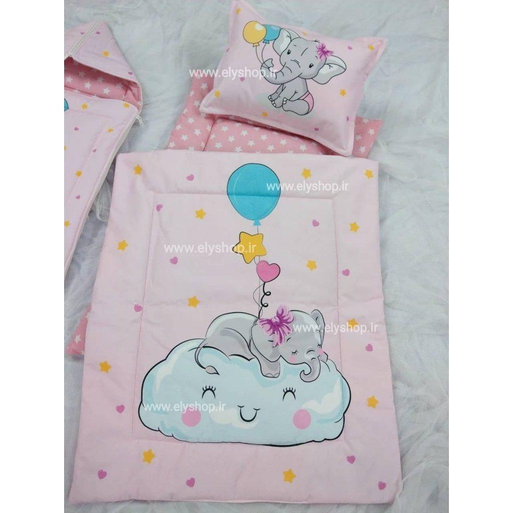 لحاف تشک نوزادی pink dream