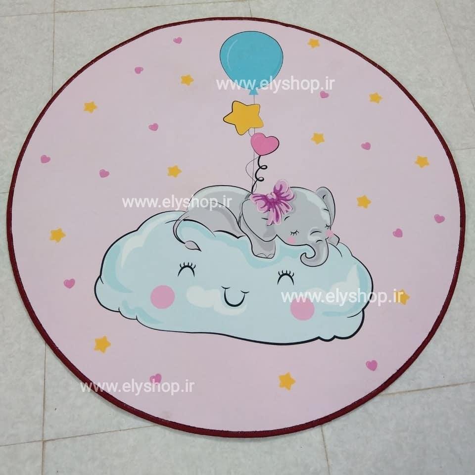 فرش اتاق کودک pink dream