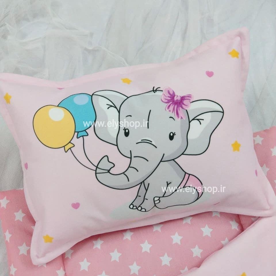 بالش نوزادی pink dream